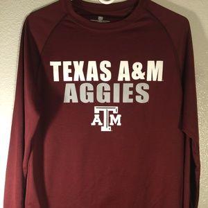 Texas A&M Aggies long sleeve shirt M